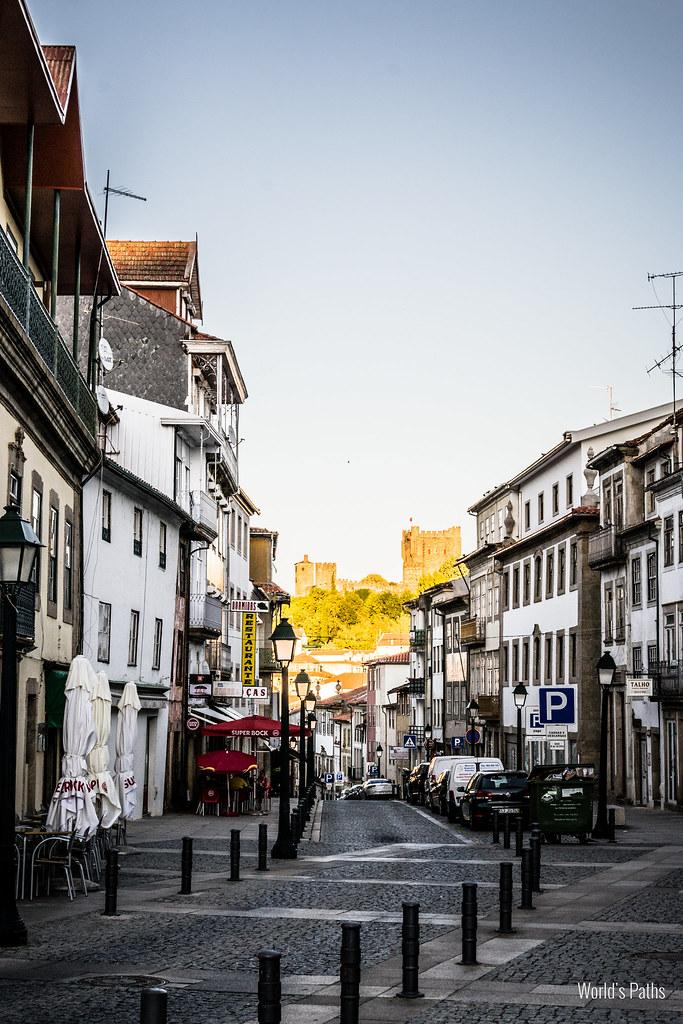 Bragança ed il suo castello