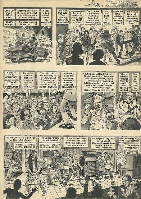 Punk Rock Group Of The Year (Mad Magazine - June 1978) 3/4