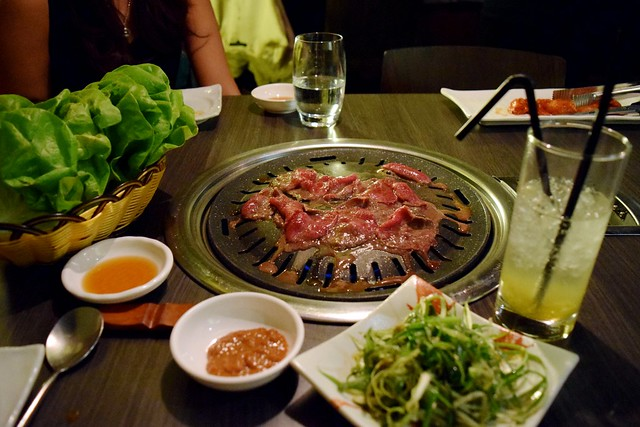 Korean Barbecue at Koba, Fitzrovia