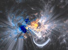 Coronal Loops Reveal Magnetic Dance