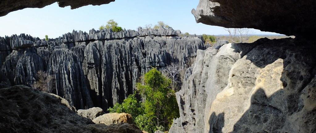 Panorama: Tsingy de Bemaraha