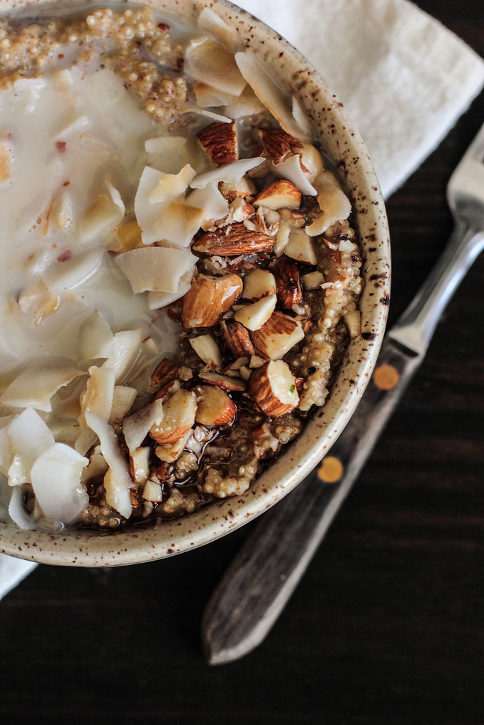 Coconut Almond Quinoa