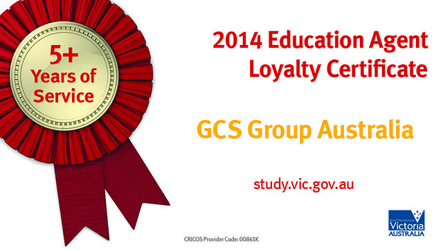 Victorian Government Loyalty Certificate - GCS Group
