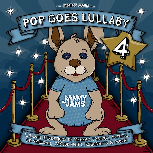 Jammy Jams - Pop Goes Lullaby 4 Front