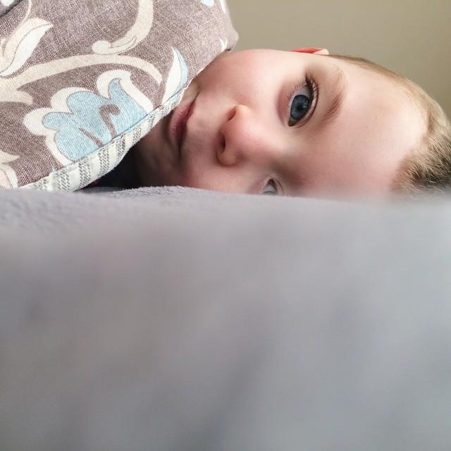 Peekaboo! #naptime #gotosleep