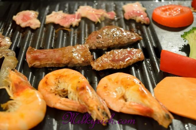 Nướng thịt bếp điện - fe