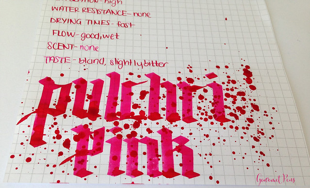 Ink Shot Review: P.W Akkerman Pulchri Pink Ink