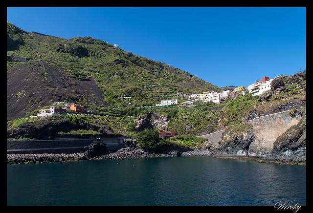 Garachico roque piscinas naturales caleton - Casas en acantilado de Garachico