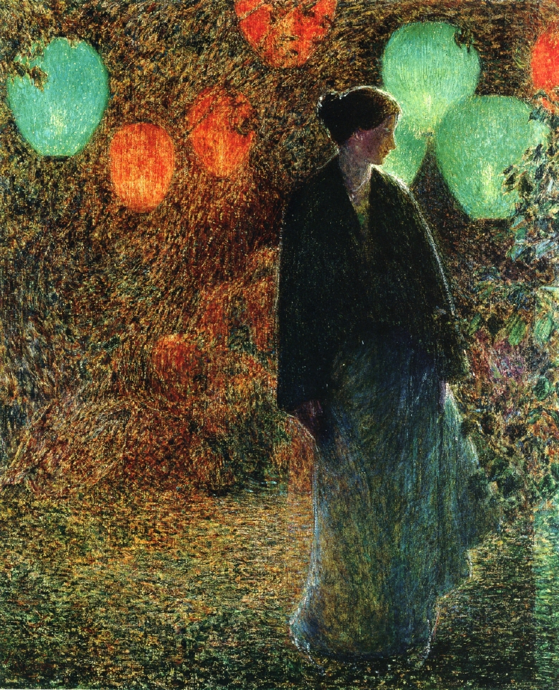 July Night by Frederick Childe Hassam - 1898