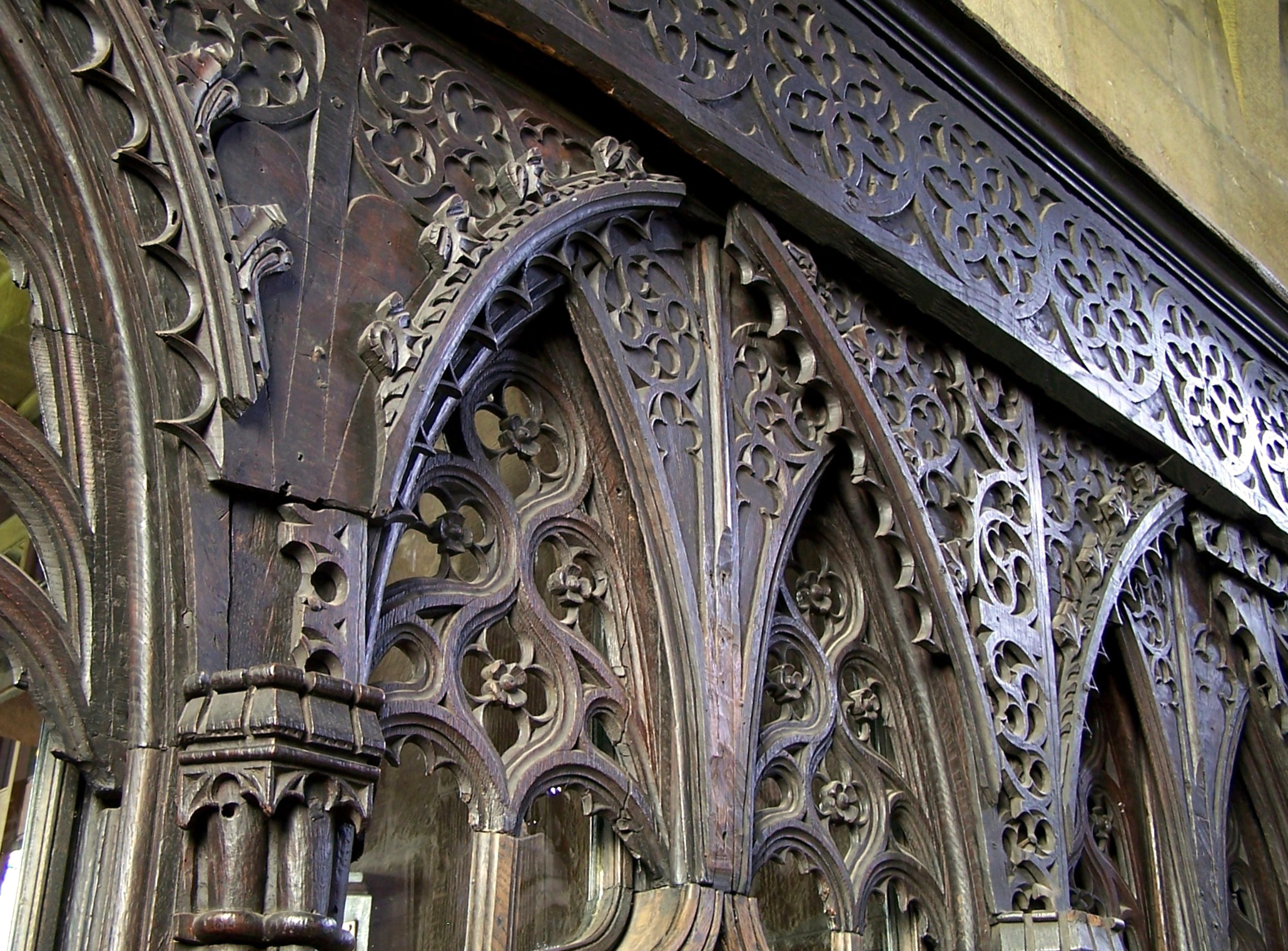 14. Discover a rood screen
