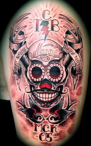 48 Amazing Sugar Skull Tattoo Designs