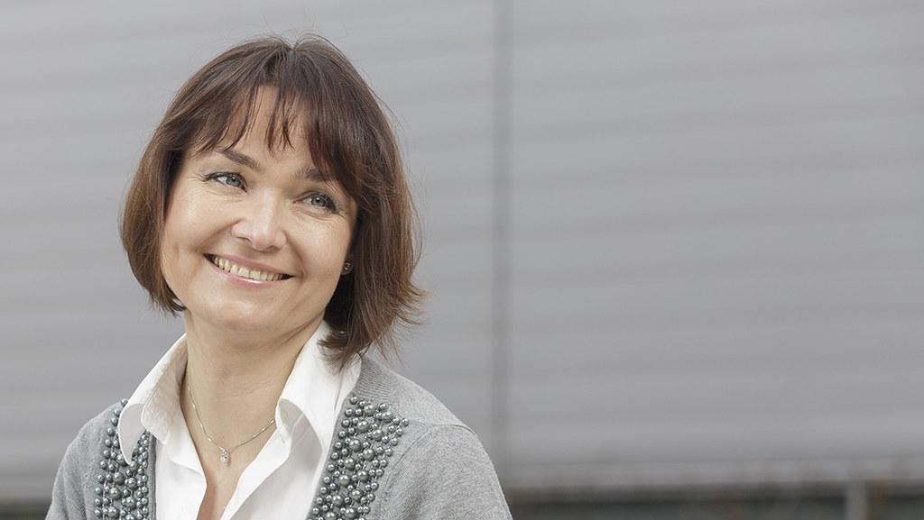 Portrait of Professor Ania Zalewska