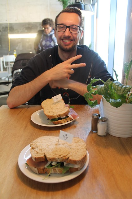 Ruud and sandwiches!