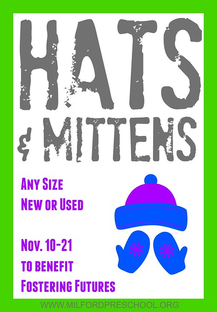 Hat and Mitten Drive Flyer