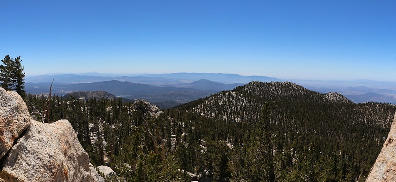 A view of Marion Mountain from the Jean Peak summit