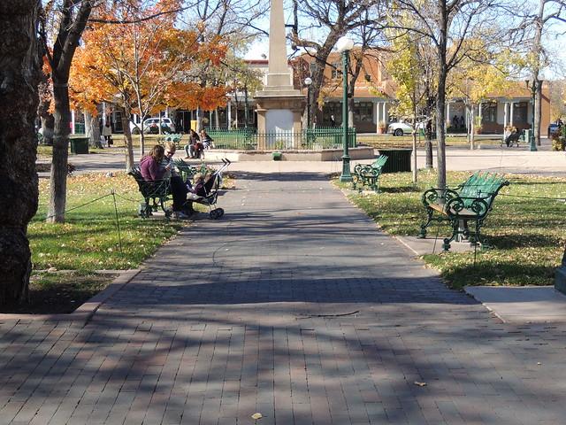 Santa Fe Plaza November, 2014