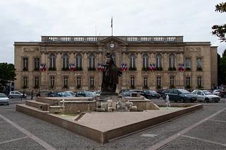 Hôtel de Ville de Beauvais sur la Place Jeanne Hachette