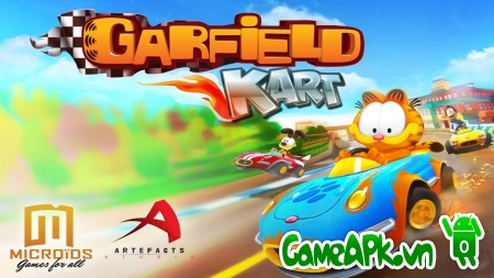 Garfield Kart Fast & Furry v1.01 hack full tiền cho Android