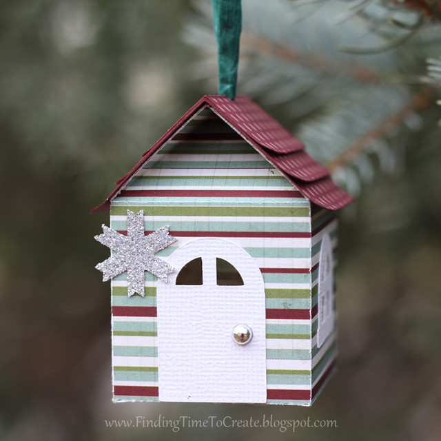 House Ornaments - striped