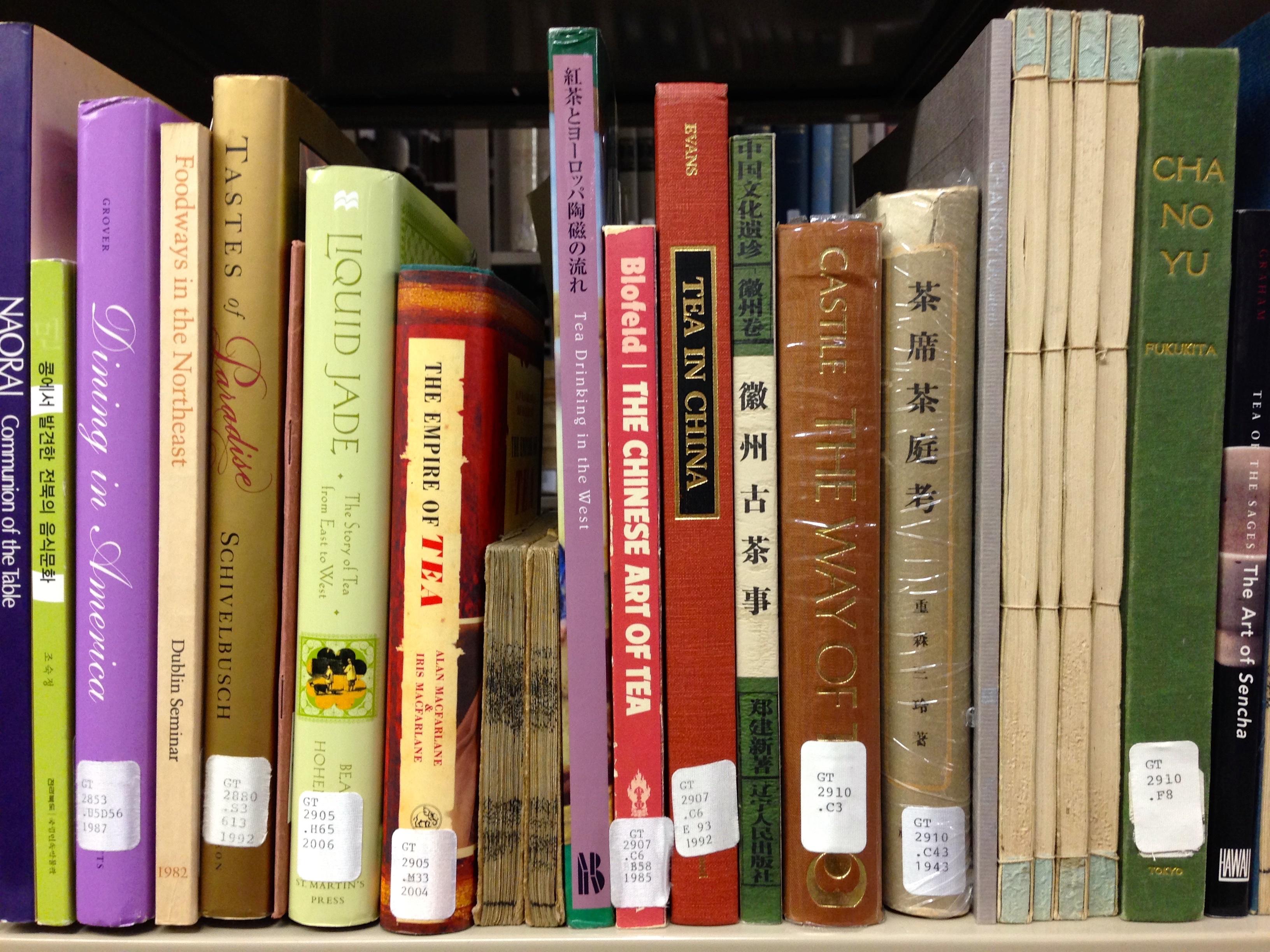 Books on tea