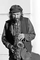 Jules Madjar, saxophone (Dulcie May and The Mystery Cats), Canterbury