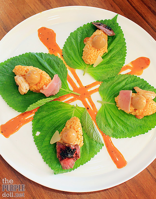 Red Rice Shiso Duo (P240)
