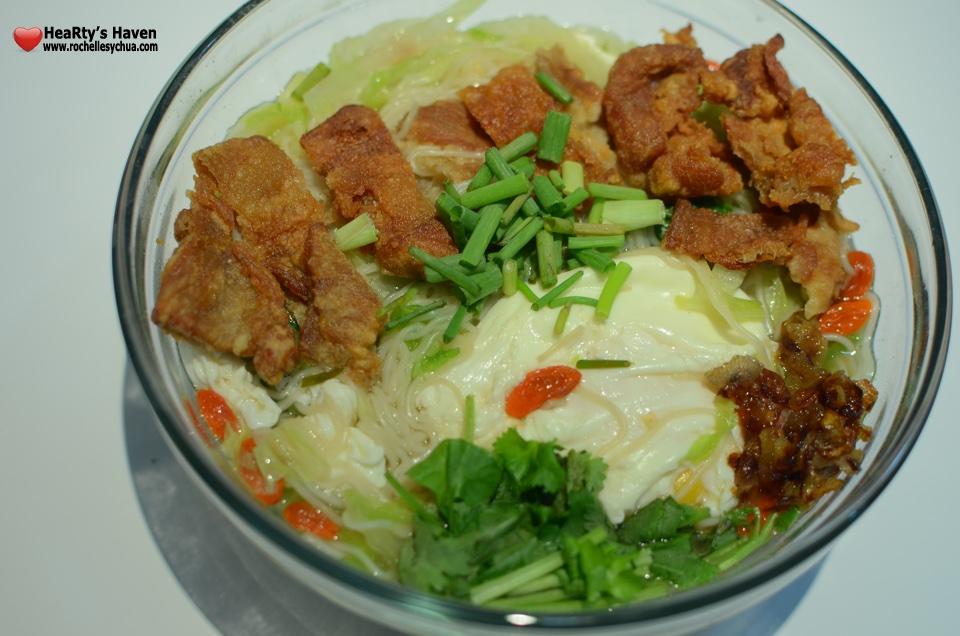 Pork Chop Misua Noodle Soup