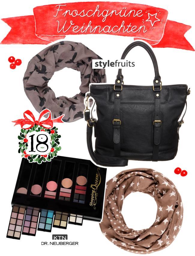 Froschgrüne Weihnachten, Blogger-Adventskalender, Türchen 18