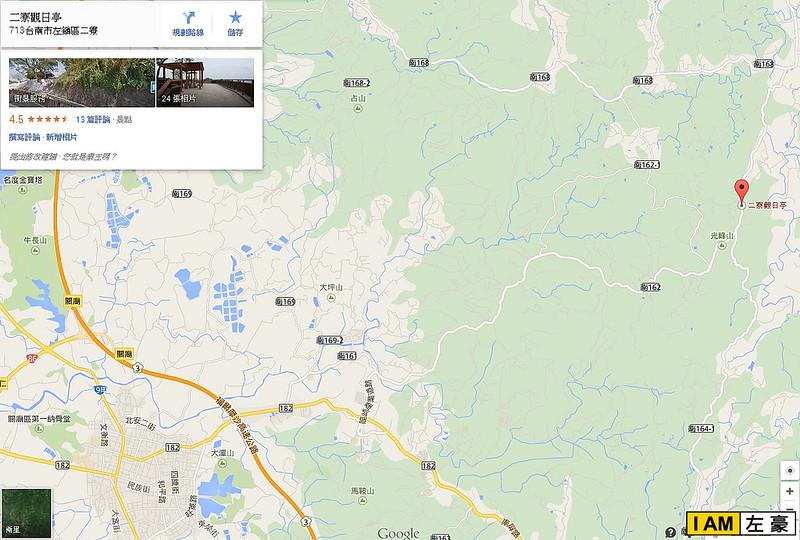 二寮观日亭地图