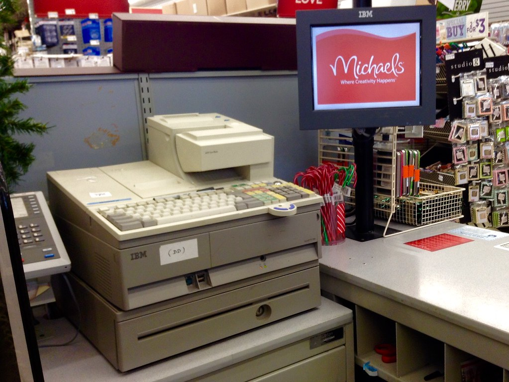 Michaels Arts And Crafts Cash Register 122014 By Mike Flickr