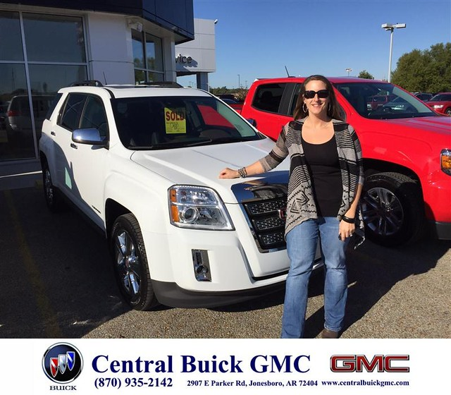 Central Chevrolet Jonesboro Ar >> Congratulations to Joanna Cupp on your #Gmc #Terrain ...