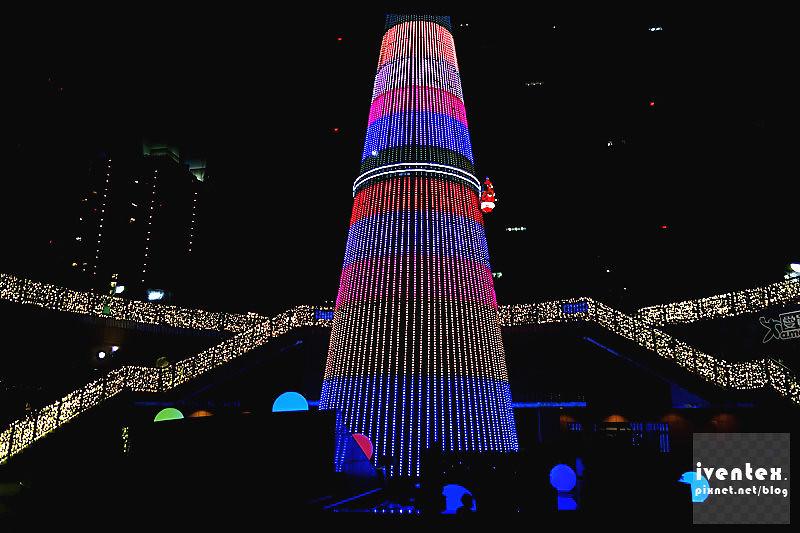 25刀口力2014新北市歡樂耶誕城新北市市民廣場耶誕樹.
