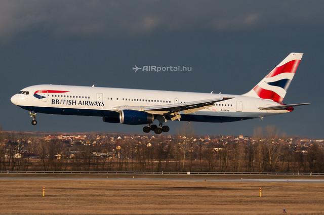 Hamarosan leköszönnek a British Airways Boeing 767-esei