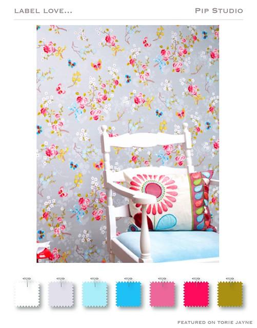 Pip Studio wallpaper Spring-Summer 2009