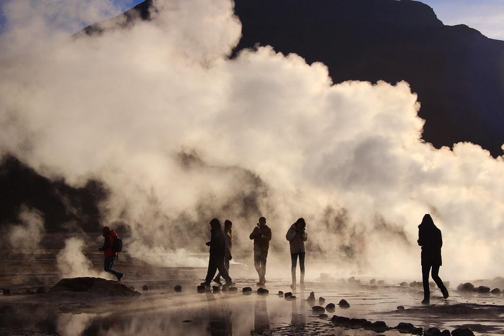 Géiser Tatio- Segunda Región de Chile- Atacama