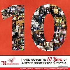 TSE 10 Years