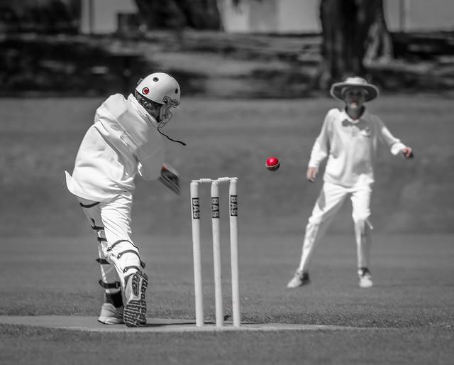 SZ junior cricket batting