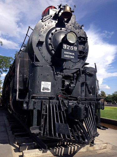Locomotive Park, Route 66, Kingman, Arizona