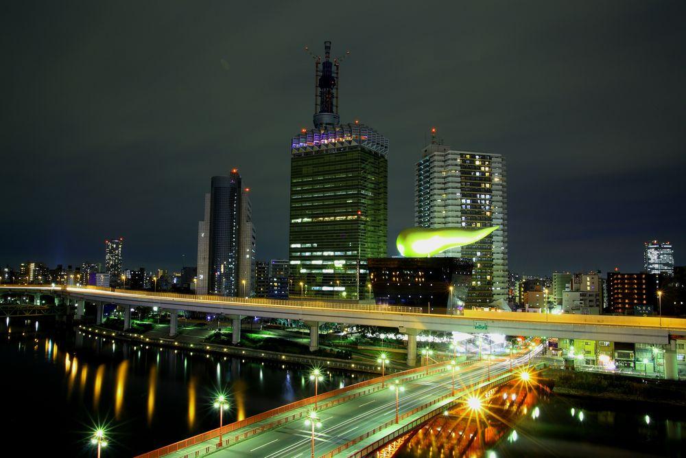 浅草 吾妻橋付近の絶景
