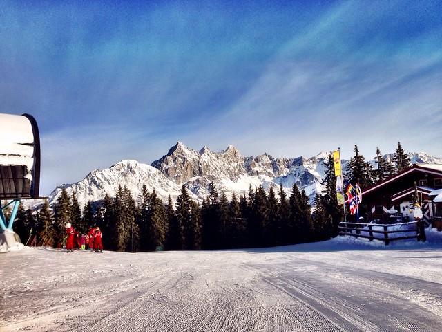 Skiing at Filzmoos