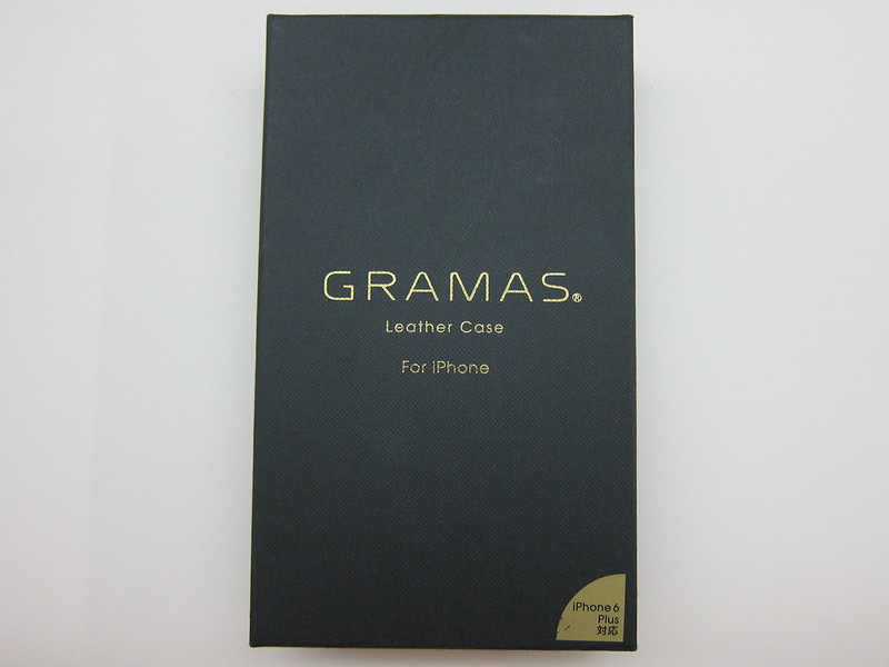 GRAMAS Full Leather Case - Box Front