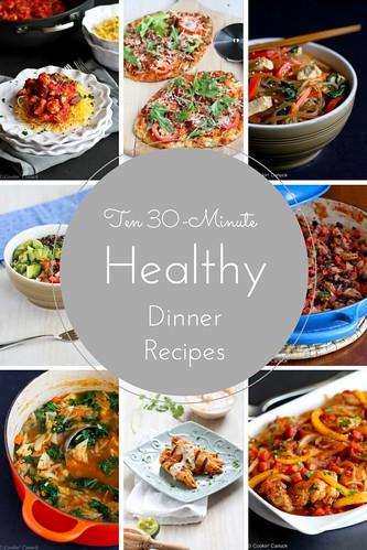 Ten 30-Minute Healthy Dinner Recipes | cookincanuck.com