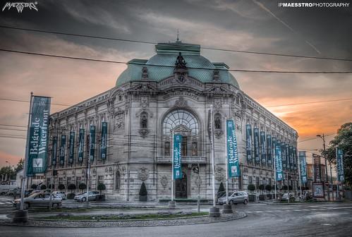street city sunset sky building architecture sunrise serbia belgrade beograd hdr srbija maesstro