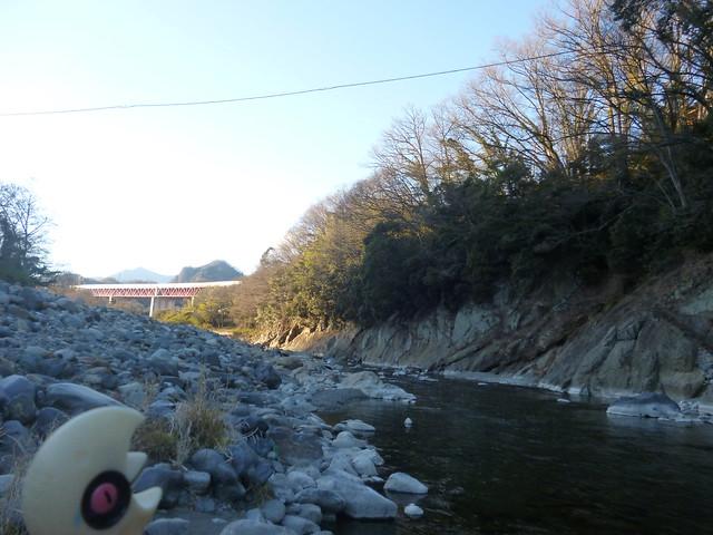 Photo:Lunatone in Otsuki, Yamanashi 2 (Saruhashi bridge) By Kasadera
