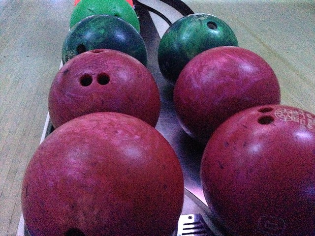 Bowling at Elitch Lanes