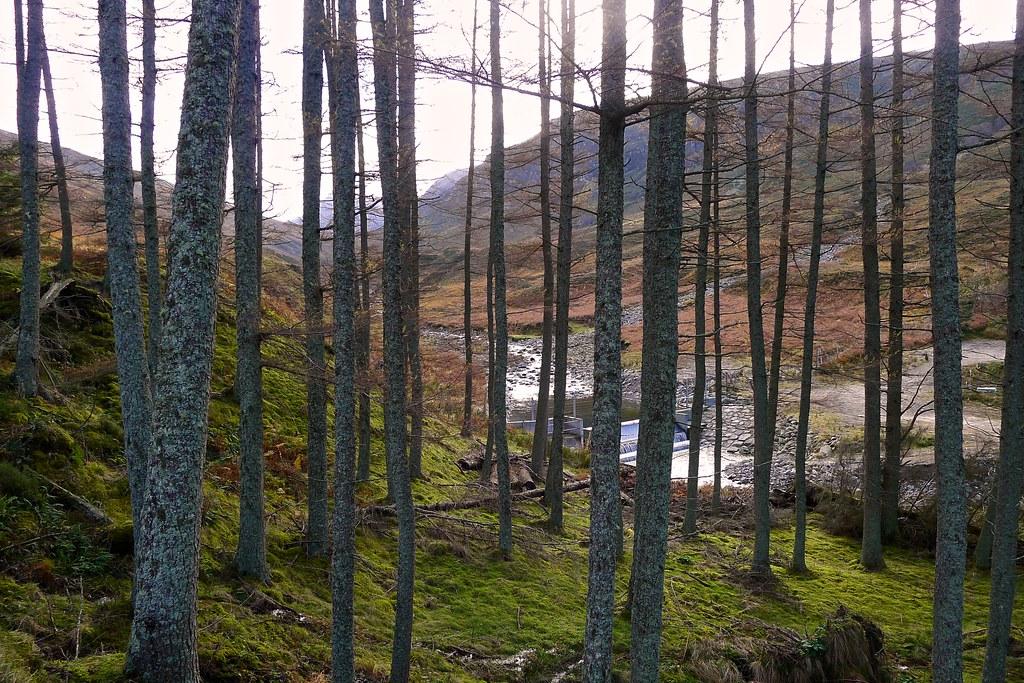 Upper weir, River Lael hydro scheme