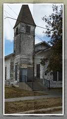 Oldest church in Sanger.  Being refurbished.