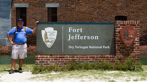 Dan Passaro at Fort Jefferson, Dry Tortugas