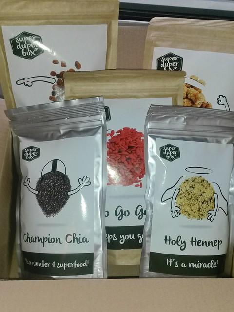 Super Duper Box: superfood info en recepten ~ CherryCharlie.nl