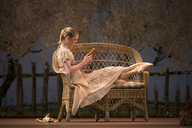 Sara Lamb as Tatiana in Onegin, The Royal Ballet © ROH/Bill Cooper, 2013